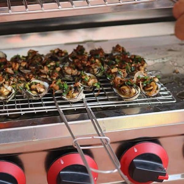 Lò nướng hải sản
